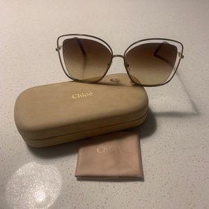 Chloe Poppy Butterfly Sunglasses